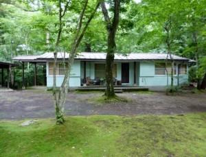 7棟ある別荘の内西村伊作が使っていた一番古い棟