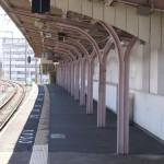 JR紀伊中之島駅ホーム