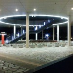 Big・Uのエントランスの夜景写真