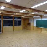 普通教室1F(写真は普通教室3)