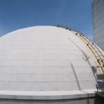 プラネタリウムの屋根