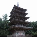西暦951年建立の五重塔