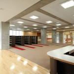 図書室と多目的スペースと普通教室